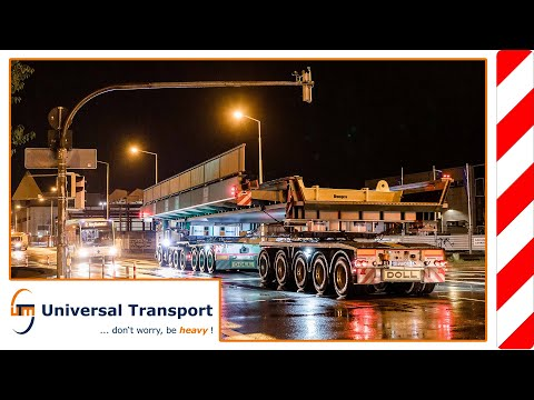 With two bridges through the city - Universal Transport