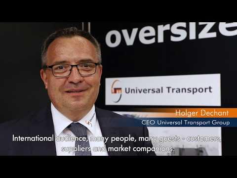 Universal Transport, Züst&Bachmeier und StB auf der Breakbulk 2019 in Bremen