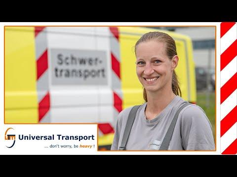 Universal Transport - Portrait: Linda Haitsch - Berufskraftfahrerin